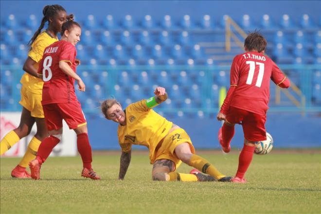 Đội tuyển nữ Việt Nam thất bại đầy tiếc nuối.