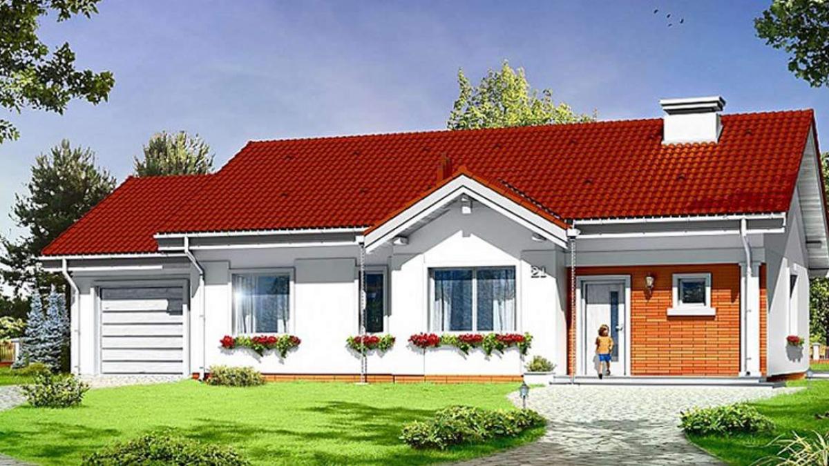 Với thiết kế nhiều cửa sổ làm cho ngôi nhàluôn tràn ngập ánh sáng tự nhiên
